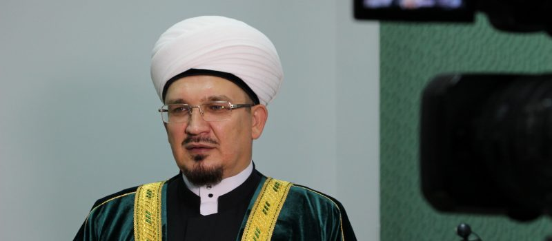 Поздравление муфтия по случаю Курбан байрама.