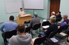 Муфтий встретился со студентами заочного отделения медресе