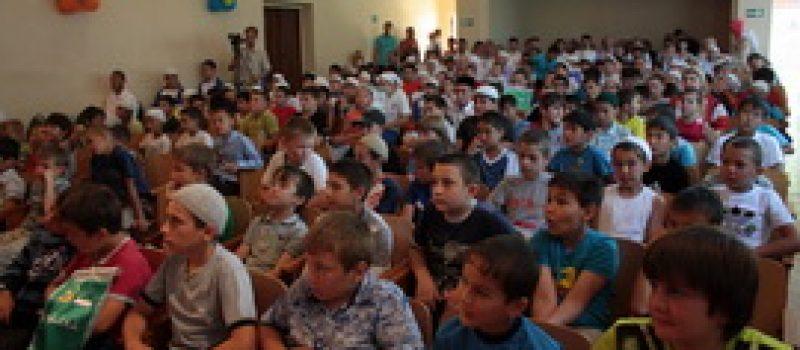 «Фестиваль дружбы» сблизил детей разных национальностей