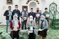 Заместитель директора провел встречу в мечети п. Дергачи.