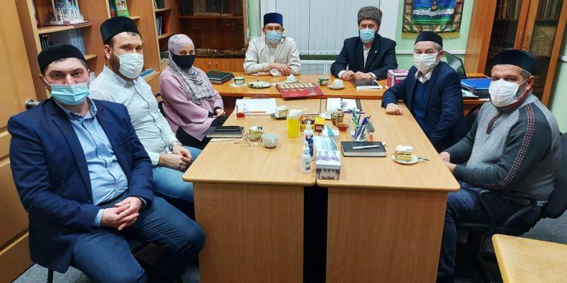 Встреча преподавателей с муфтием Саратовской области.