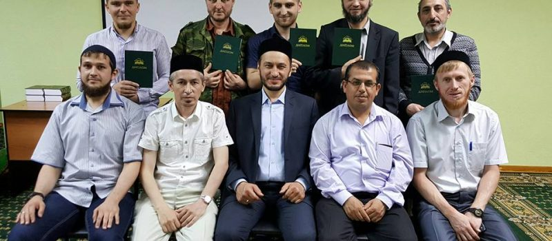 В медресе «Шейх Саид» прошел юбилейный выпуск