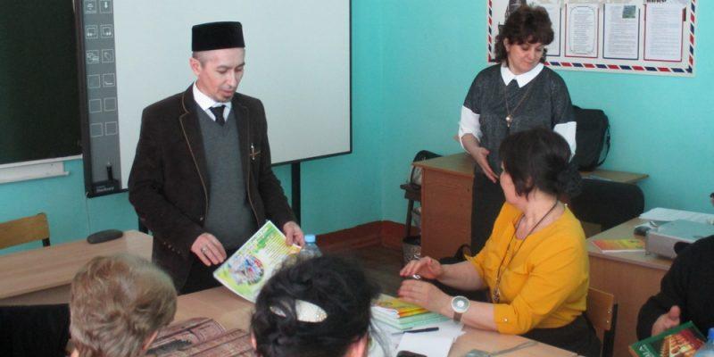 Заместитель директора выступил на районном семинаре учителей