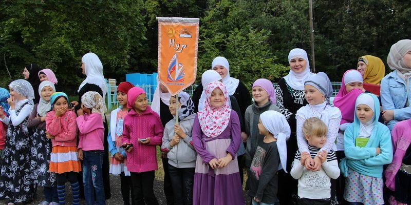 Скоро в летнем лагере «Муслим» стартует смена для девочек