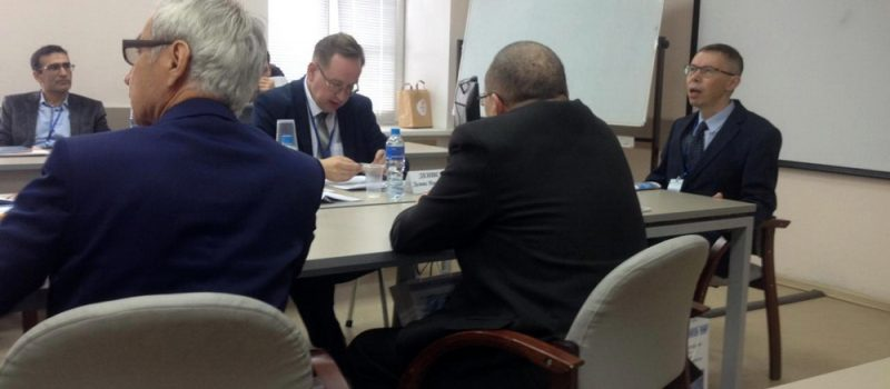 Заместитель директора медресе  принял участие на международном форуме «Ислам в мультикультурном мире»
