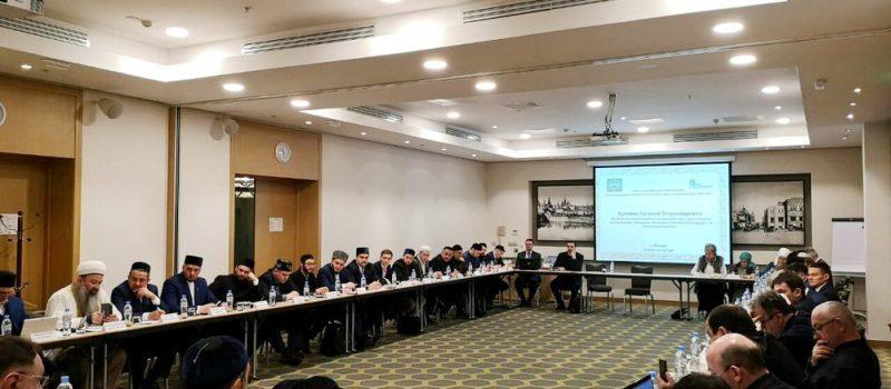 Директор медресе «Шейх Саид» посетил заседание Совета по исламскому образованию в Москве